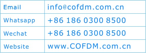 cofdm contact supplier factory china shenzhen