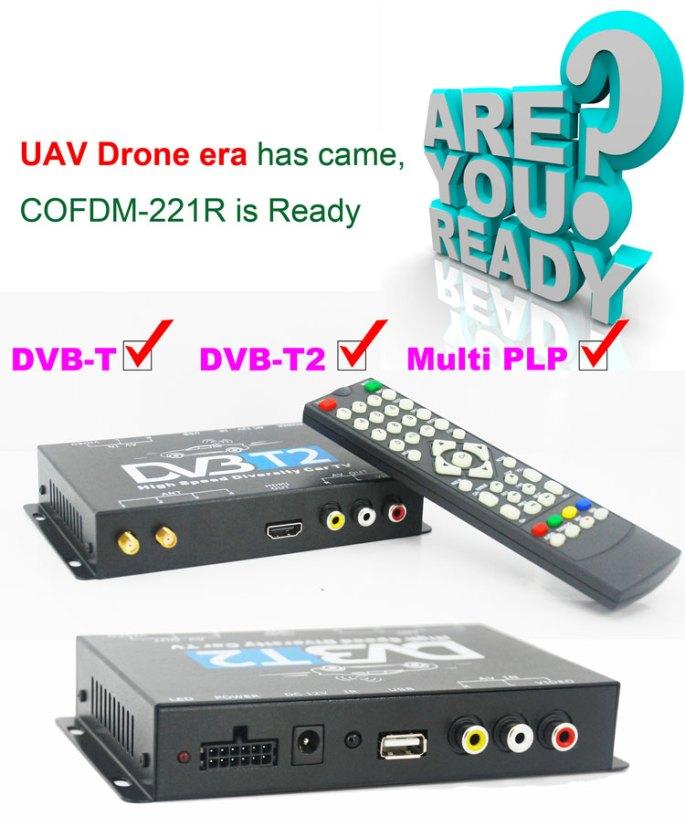 COFDM Video transceiver