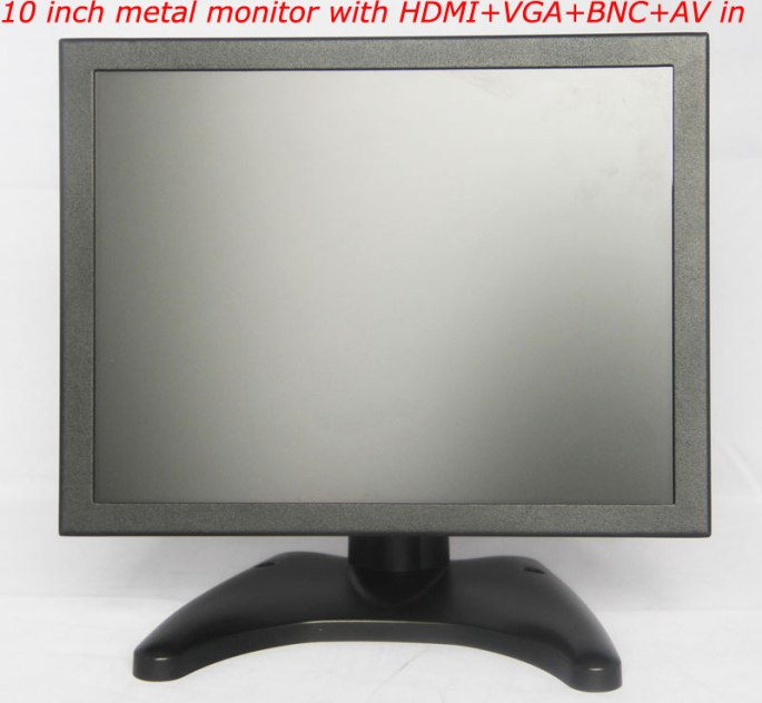 10 inch metal monitor