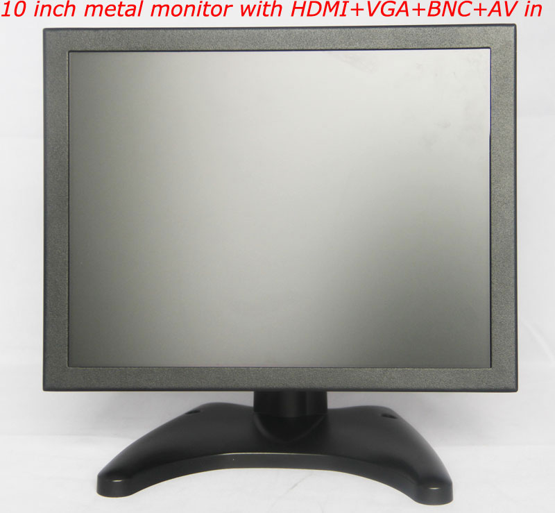 10-inch-metal-housing-monitor-with-HDMI+VGA+BNC+AV-input