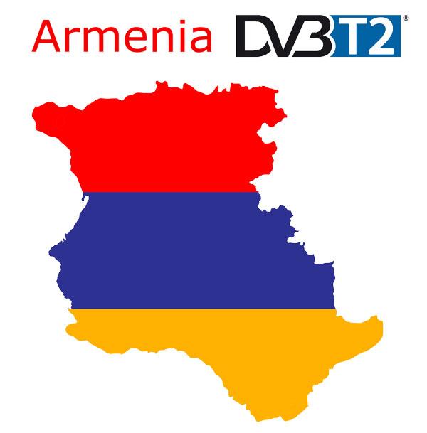 Armenia DVB-T2