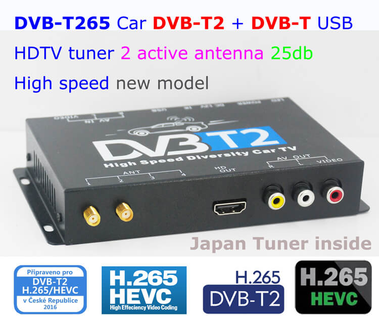 Germany Auto DVB-T2 OSD Menu H265