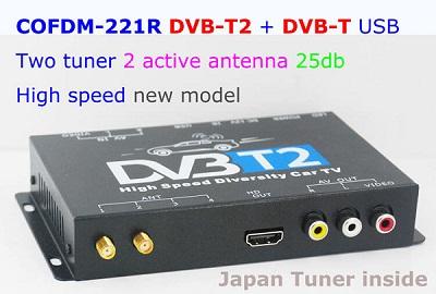 COFDM-221R HD Wireless Video Receiver COFDM AV 1080P Transmission image Transceiver CVBS170~900Mhz