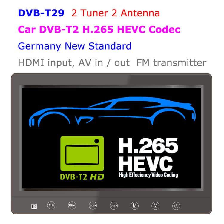 DVB-T2 LCD TV monitor
