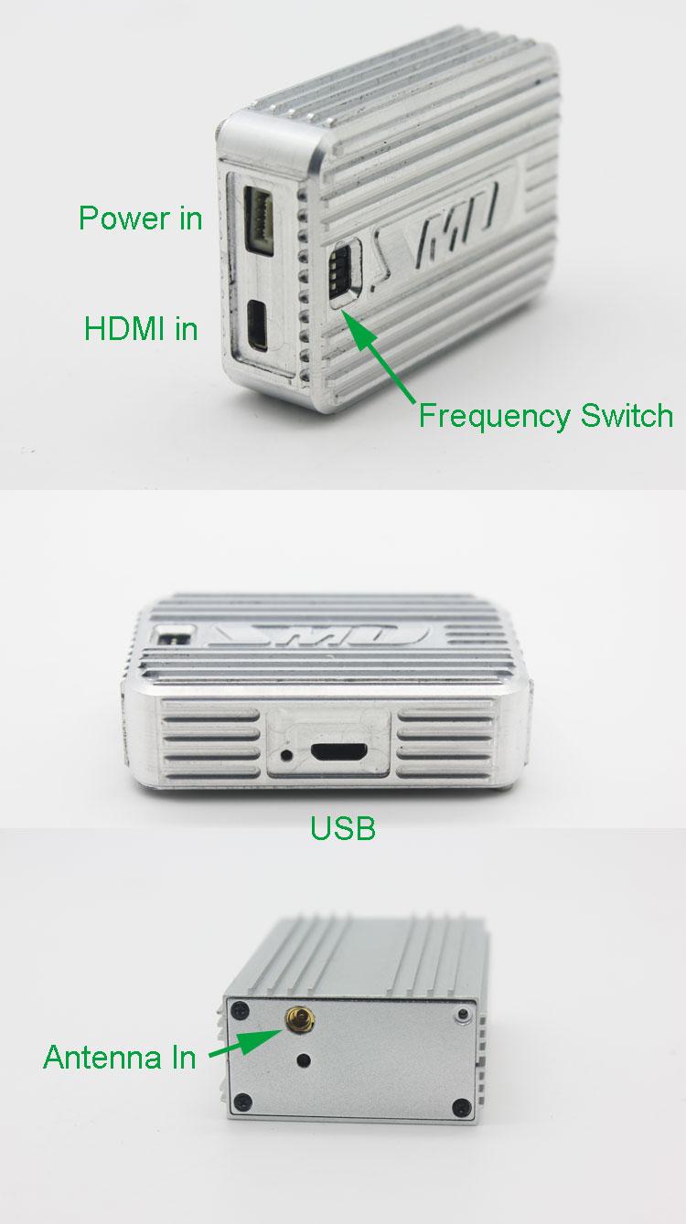 cofdm transmitter wireless video modulator