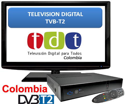 Colombia DVB-T2 TDT