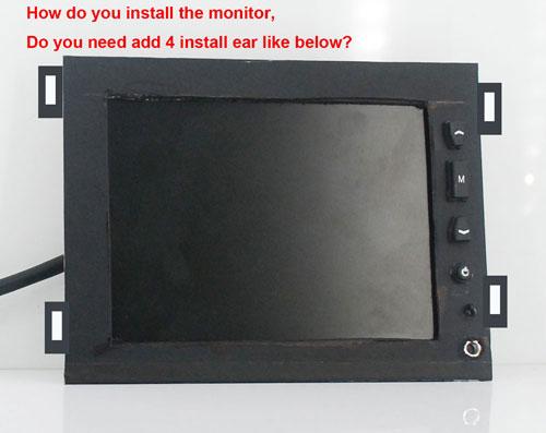 金属外壳显示器