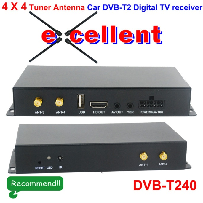 German HD DVB-T2 broadcasts