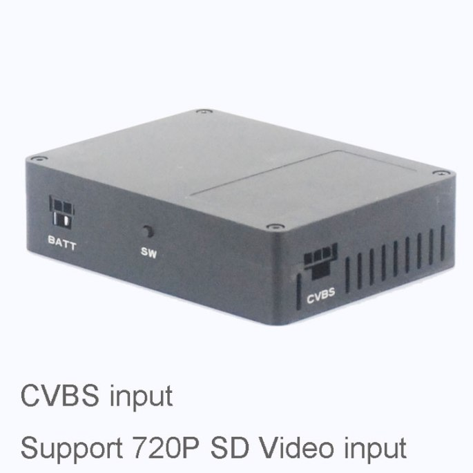 COFDM Wireless Transmitter CVBS input