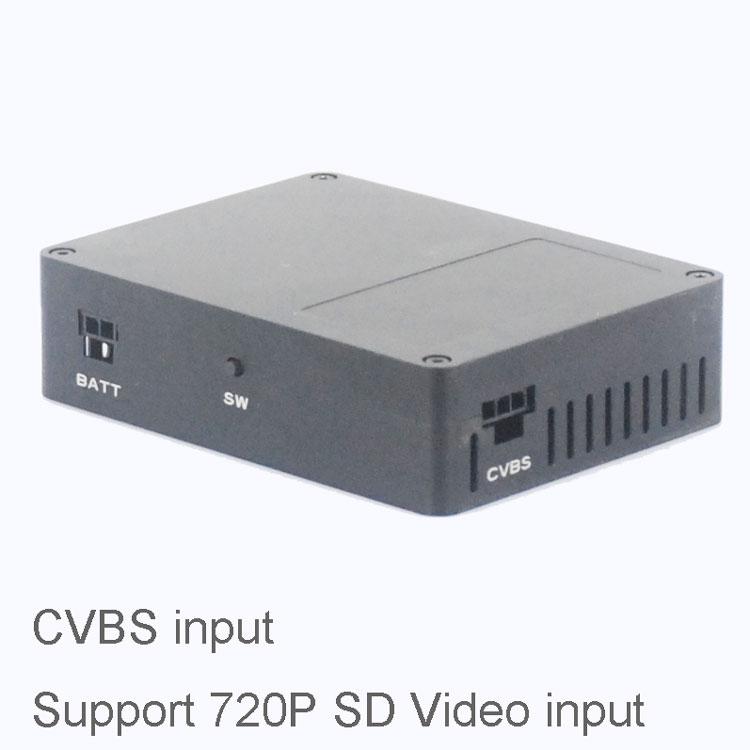 COFDM Wireless Transmitter CVBS input