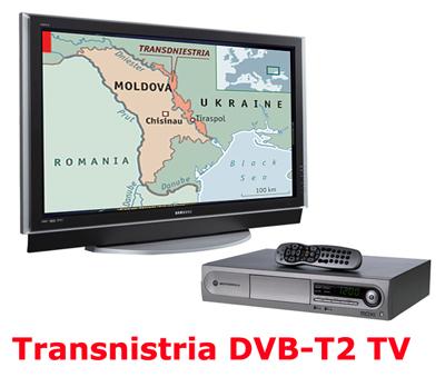 Transnistria DVB-T2