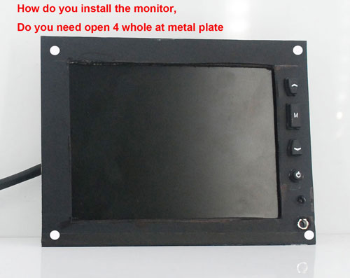Open frame Metal housing LCD monitor