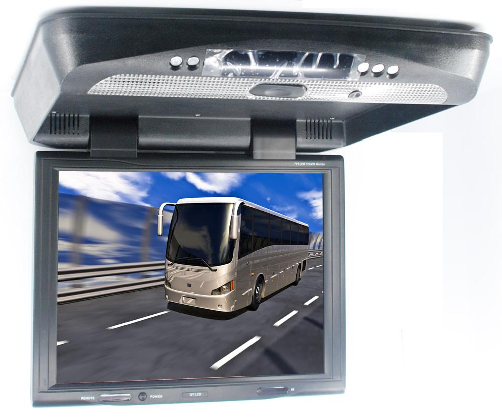 15 Flip Down DVD Player