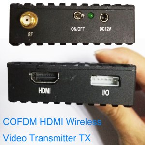 COFDM Wireless Video transmitter Image Transmission Transceiver