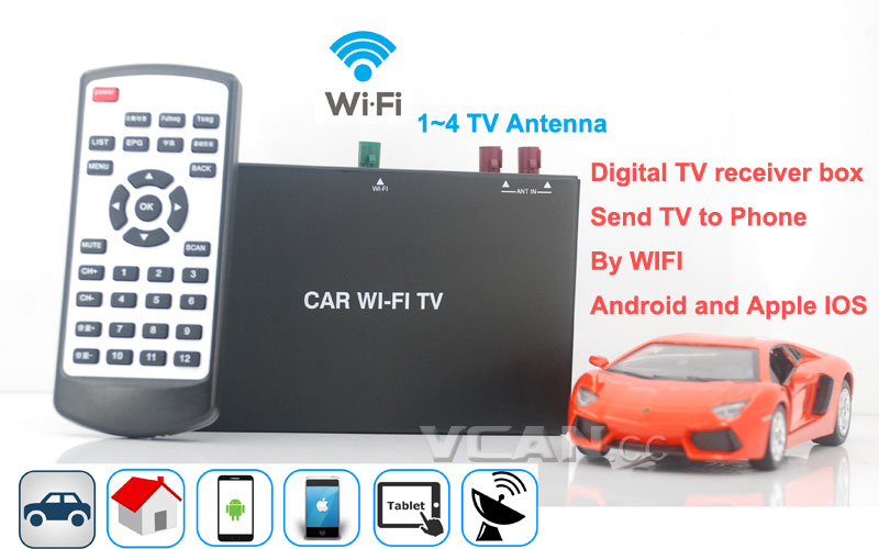 Car WIFI TV